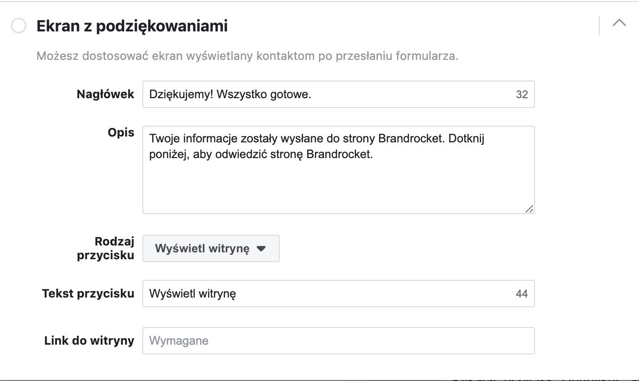 Facebook-Lead-Ads-ekran-koncowy